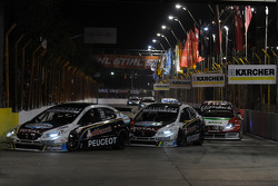 Agustín Canapino, Peugeot Total Argentina, Néstor Girolami, Peugeot Total Argentina, Facundo Ardusso, Equipo Fiat Petronas