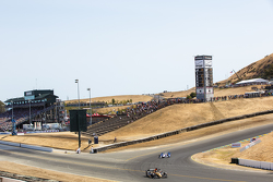 Race action at Sonoma
