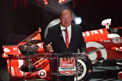 Célébration du championnat IndyCar