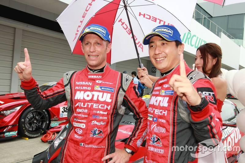 Polesitters: Tsugio Matsuda, Ronnie quintarelli, Nismo Nissan GT-R