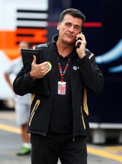 Federico Gastaldi, Lotus F1 Team Equipo director Adjunto Principal
