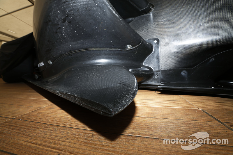 Dallara GP3-16, Detailaufnahme