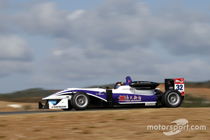 Zhi Cong Li, Fortec Motorsports Dallara F312 Mercedes-Benz