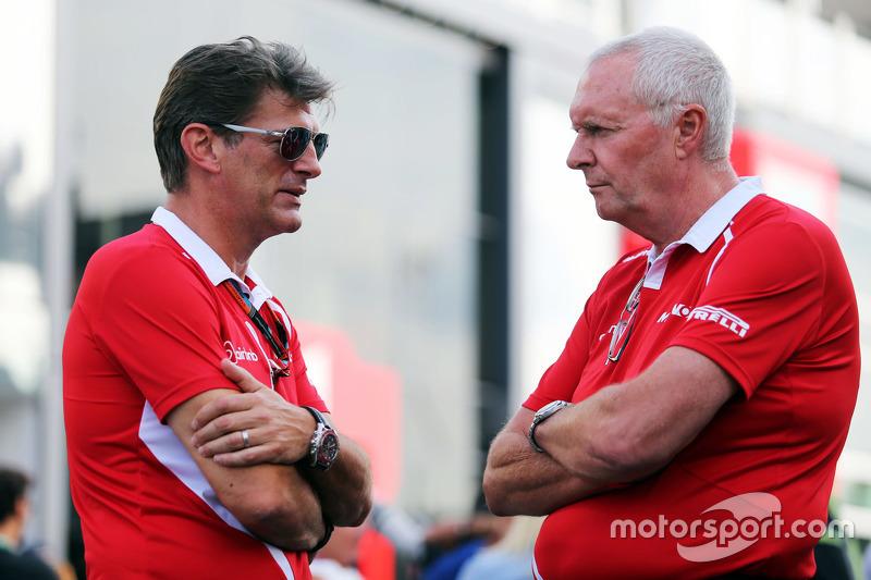 Graeme Lowdon mit John Booth, Manor Marussia F1 Team