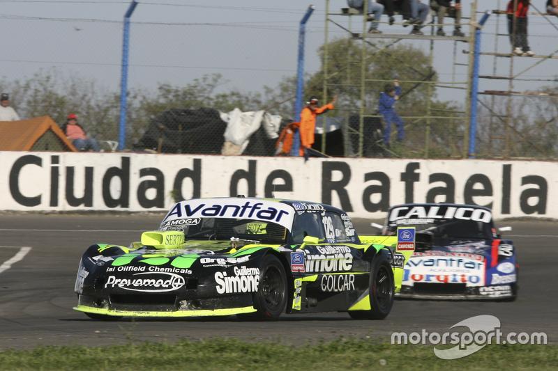 Mauro Giallombardo, Maquin Parts Racing Ford ve Emanuel Moriatis, Alifraco Sport Ford
