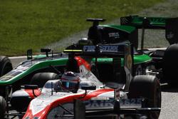 Рене Біндер, MP Motorsport лідирує  Марлон Штокінгер, Status Grand Prix