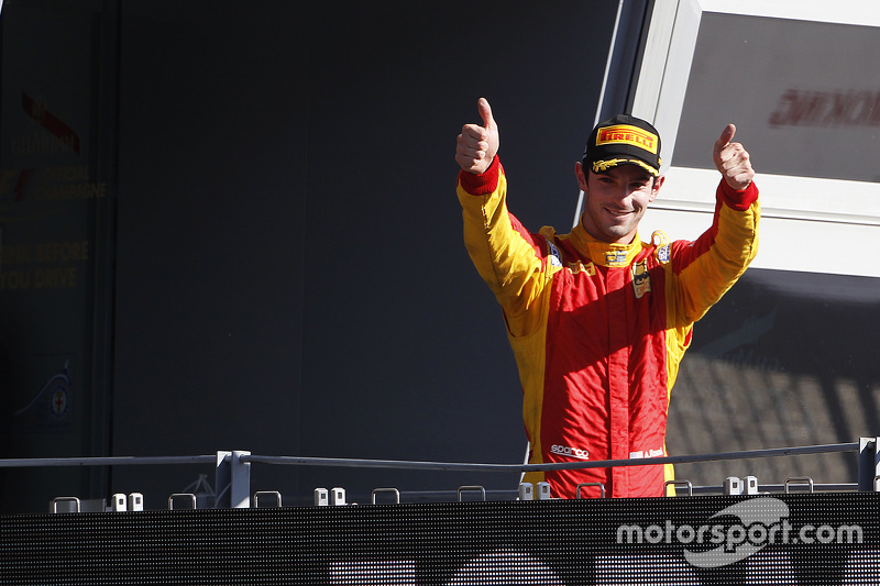Race 1 Winner Alexander Rossi, Racing Engineering
