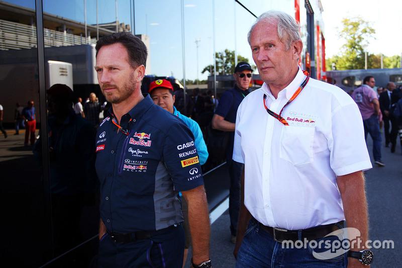 Крістіан Хорнер, Red Bull Racing Керівник команди з Д-р Хелмут Марко, Red Bull Motorsport Consultant