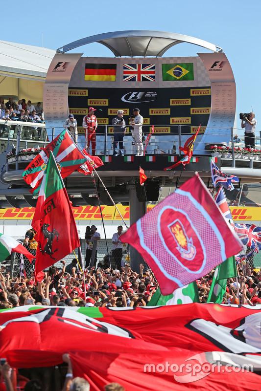 Sebastian Vettel, Ferrari, Lewis Hamilton, Mercedes AMG F1, Felipe Massa, Williams