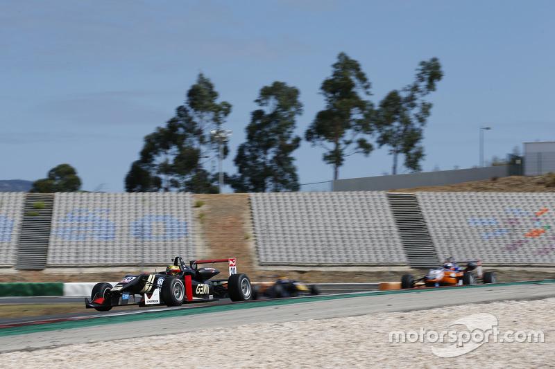 Dorian Boccolacci, Signature Dallara Volkswagen; Santino Ferrucci, Mücke Motorsport Dallara Mercedes