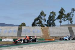 Julio Moreno, ThreeBond with T-Sport Dallara NBE y Raoul Hyman, Team West-Tec F3 Dallara Mercedes-Benz