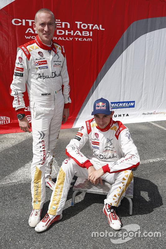 Stéphane Lefebvre en Stéphane Prévot, Citroën DS3 WRC, Citroën World Rally Team