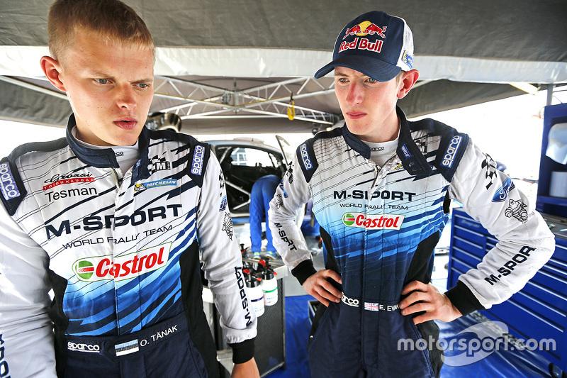 Ott Tanak and Elfyn Evans, M-Sport
