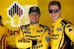 Rob Huff, Lada Vesta WTCC, Lada Sport Rosneft et Nicky Catsburg, Lada Vesta WTCC, Lada Sport Rosneft