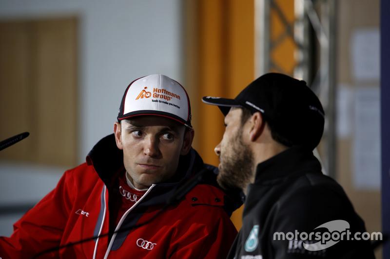 Jamie Green, Audi Sport Team Rosberg Audi RS 5 DTM and Gary Paffett, ART Grand Prix Mercedes-AMG C63