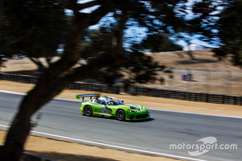 #54 Black Swan Racing Dodge Viper GT3R: Tim Pappas