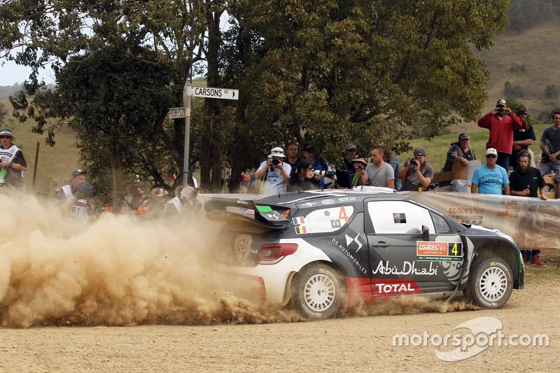 Stéphane Lefebvre und Stéphane Prévot, Citroën DS3 WRC, Citroën World Rally Team