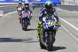 Valentino Rossi y Jorge Lorenzo, Yamaha Factory Racing