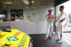 Mike Rockenfeller, Audi Sport Team Phoenix Audi RS 5 DTM and Martin Tomczyk, BMW Team Schnitzer BMW M4 DTM