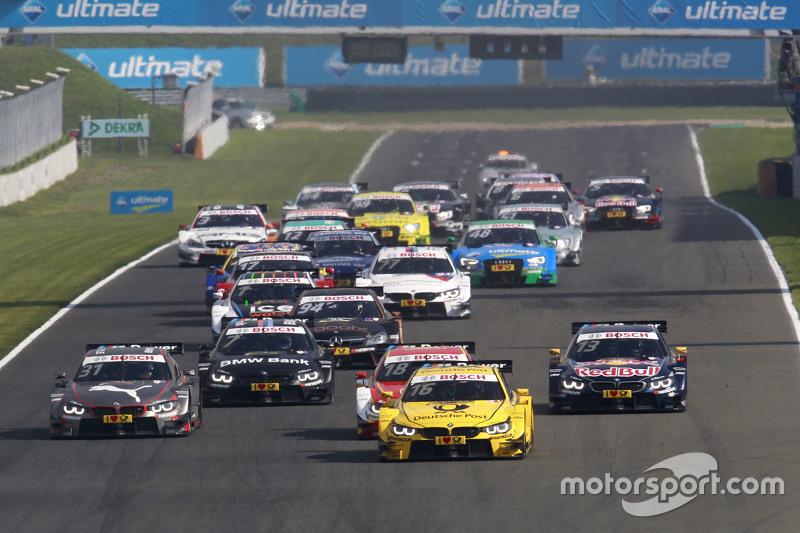 Start: Timo Glock, BMW Team MTEK BMW M3 DTM leads