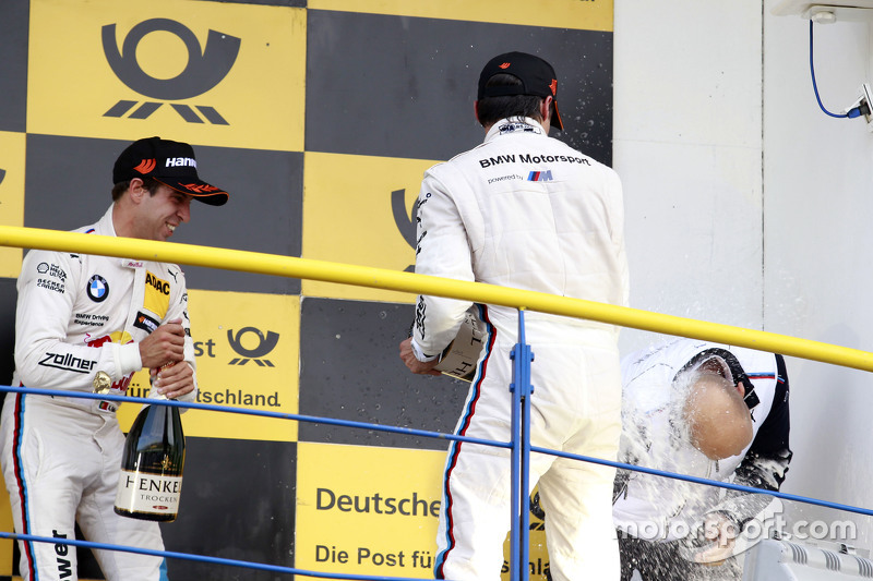 Podium: Bruno Spengler, BMW Team MTEK BMW M4 DTM