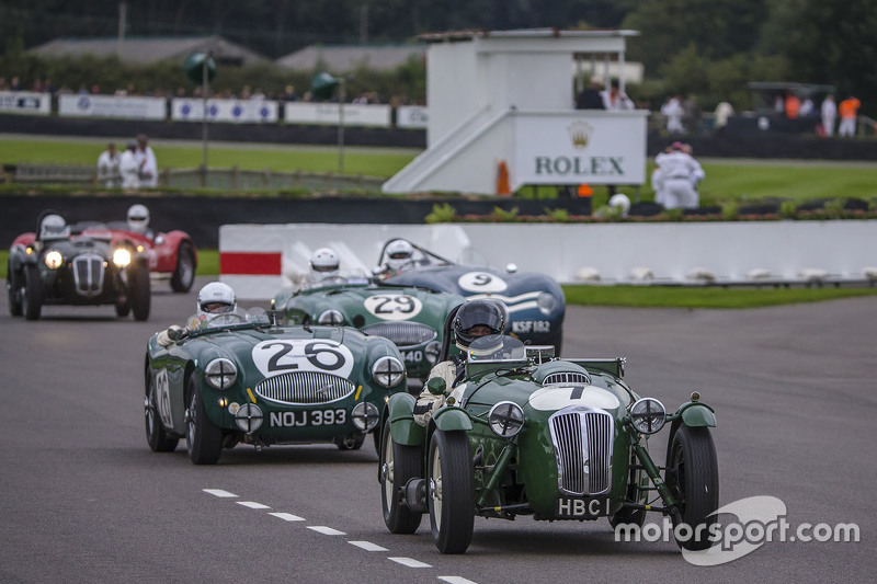 Richard Meaden and Tim Summers, Frazer Nash Le Mans Replica from 1950 during Freddie March Memorial Trophy