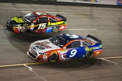 Клінт Бойєр, Michael Waltrip Racing Toyota та Сем Хорніш мол., Richard Petty Motorsports Ford