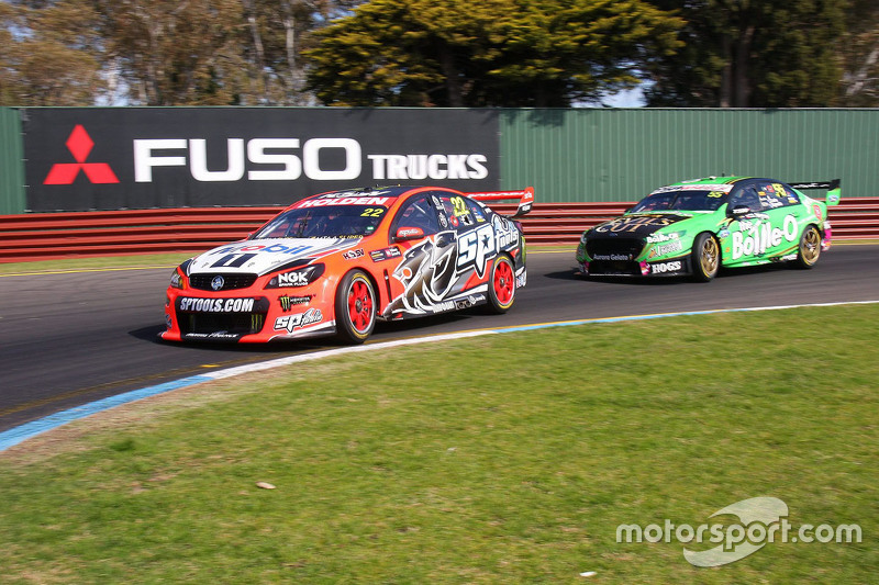 Jack Perkins und Russell Ingall, Holden Racing Team