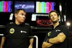 Алан Пермейн, Операційний керівник  Lotus F1 Team на треку Director з Ромен Грожан, Lotus F1 Team
