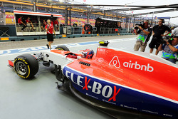 Александер Россі, Manor F1 Team залишає бокси
