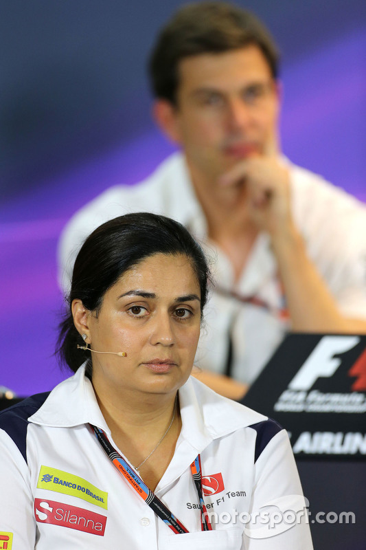 Моніша Калтенборн, Керуючий директор, Sauber F1 Team