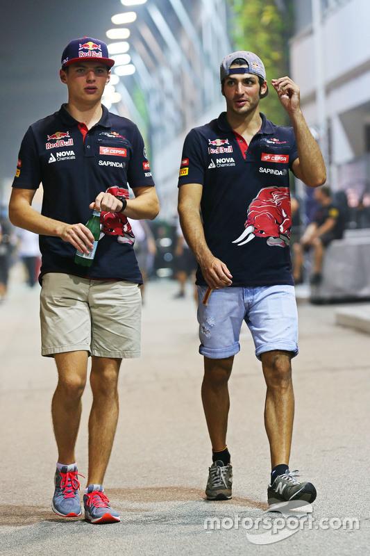 Макс Ферстаппен, Scuderia Toro Rosso з Карлос Сайнс мол., Scuderia Toro Rosso