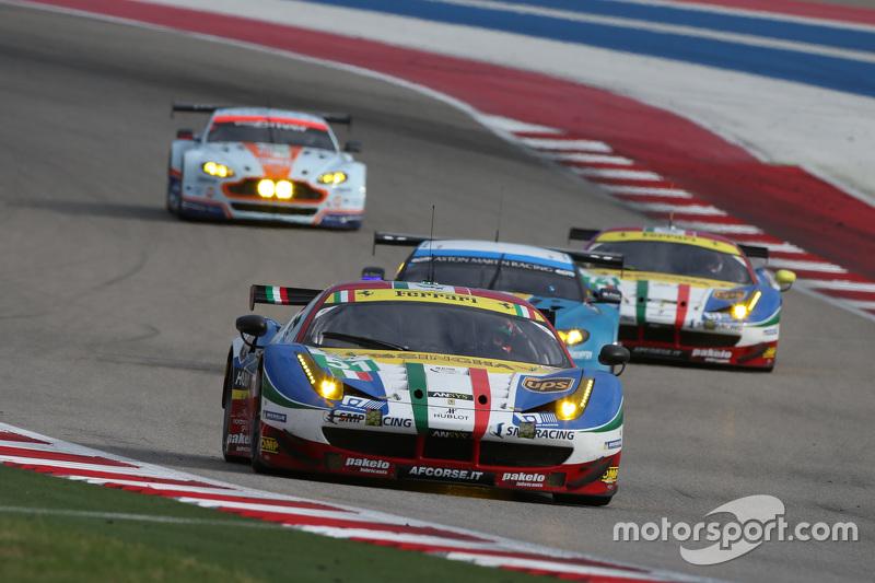 #51 AF Corse Ferrari 458 GTE: Джанмаріа Бруні, Тоні Віландер