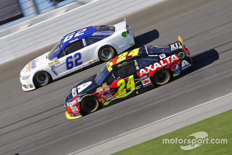 Jeff Gordon, Hendrick Motorsports Chevrolet; Timmy Hill