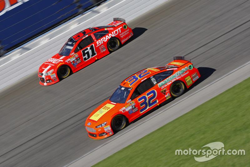 Josh Wise und Justin Allgaier, HScott Motorsports Chevrolet