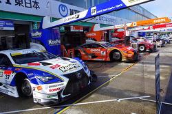 #37 Lexus Takımı KeePer Tom's Lexus RC F: Ryo Hirakawa, Andrea Caldarelli
