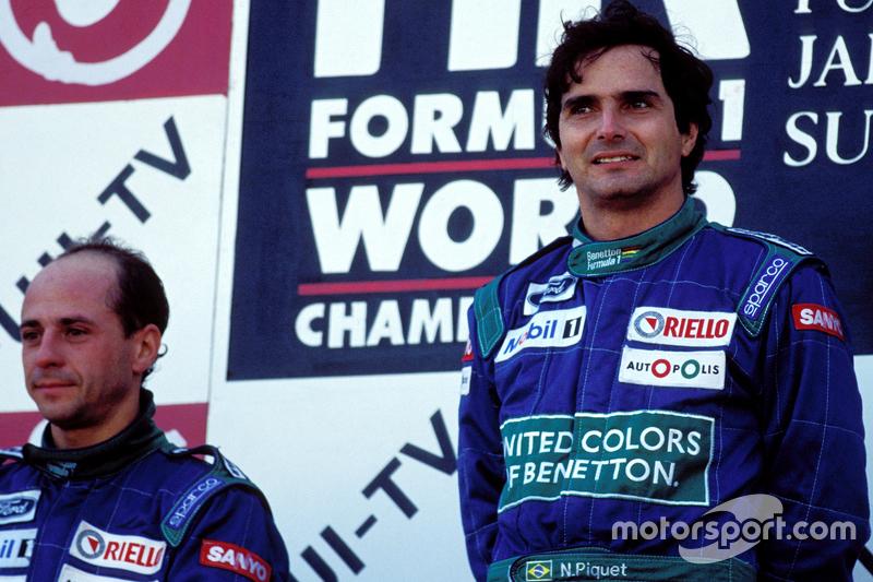 1990: Mit Benetton zurück in der Erfolgsspur
