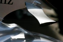 McLaren Mercedes, MP4-22, winglet detail