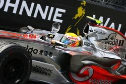 Second place Lewis Hamilton, McLaren Mercedes, MP4-22