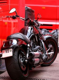 Motorbike of Michael Schumacher, Scuderia Ferrari, Advisor