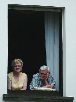Older fans enjoy the Adenauer racing day in Adenau