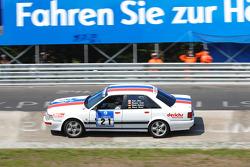 #21 Derichs Rennwagen Audi V8 D11: Keith Ahlers, Manfred Kubik, Markus Sedlmaier, Helmut Undorf