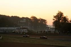 #67 Convers Menx team Ferrari 550 Maranello: Alexei Vasiliev, Tomas Kostka, #008 Aston Martin Racing Larbre Aston Martin DBR9: Christophe Bouchut, Fabrizio Gollin, Casper Elgaard