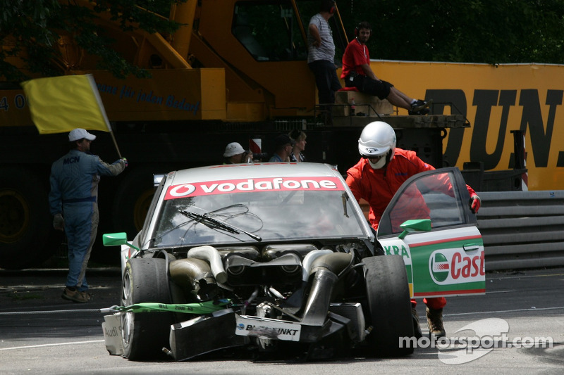 2007: Vanina Ickx (Audi) am Norisring
