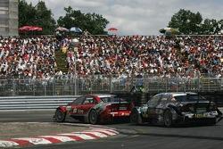 Mike Rockenfeller, Audi Sport Team Rosberg, Audi A4 DTM, Paul di Resta, Persson Motorsport AMG Mercedes, AMG Mercedes C-Klasse
