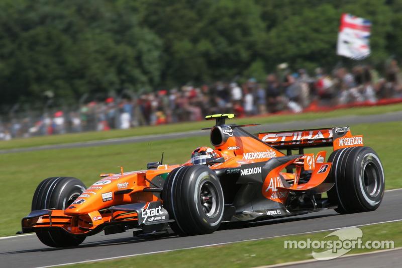 #21: Крістіан Альберс, Spyker F1 Team, F8-VII