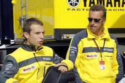 Hervé Poncharal and Sylvain Guintoli