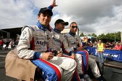 Nicolas Prost, Jean-Philippe Belloc and Franco Groppi