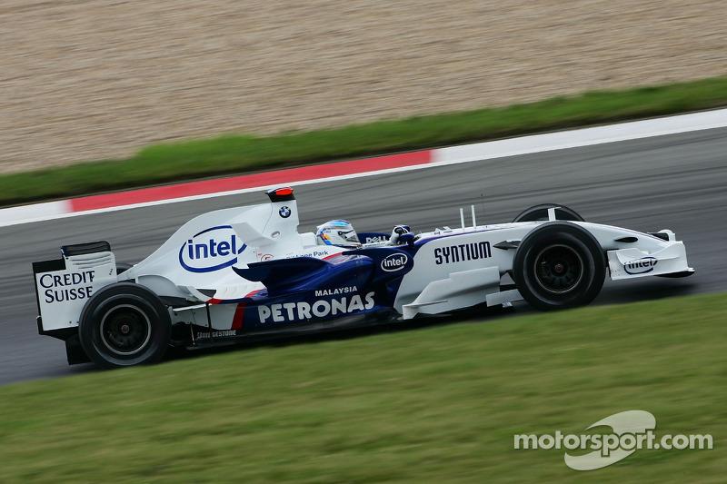 #9 : Nick Heidfeld, BMW Sauber F1.07