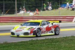 #31 Petersen White Lightning Ferrari 430 GT: Tomas Enge, Dirk Muller